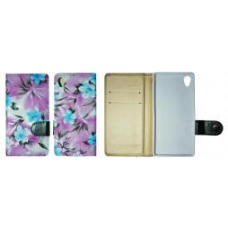 Sony Xperia M4 Aqua - Preklopna torbica (64) - vijolična