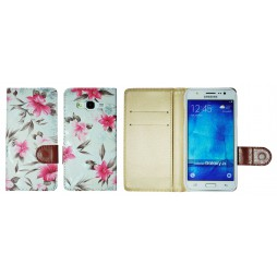 Samsung Galaxy J5 - Preklopna torbica (64) - bela