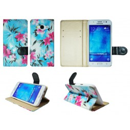 Samsung Galaxy J5 - Preklopna torbica (64) - modra