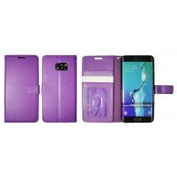 Samsung Galaxy S6 Edge Plus - Preklopna torbica (WLG) - vijolična