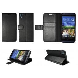 HTC Desire 626/628/650 - Preklopna torbica (WLG) - črna