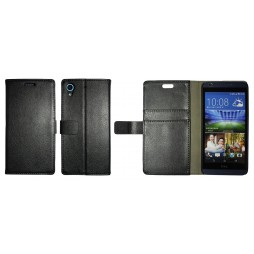 HTC Desire 626/628/650 - Preklopna torbica (WL) - črna