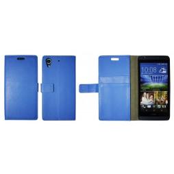 HTC Desire 626/628/650 - Preklopna torbica (WL) - modra
