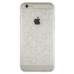 Apple iPhone 6/6S - Gumiran ovitek (21krogci) - bel