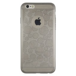 Apple iPhone 6/6S - Gumiran ovitek (21krogci) - siv