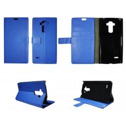 LG G4 Stylus - Preklopna torbica (WL) - modra