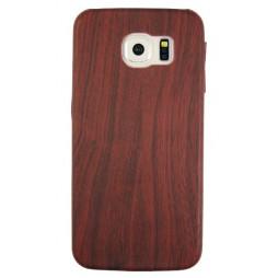 Samsung Galaxy S6 - Gumiran ovitek (27) - temno rdeč