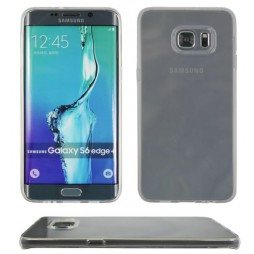 Samsung Galaxy S6 Edge Plus - Gumiran ovitek (TPU) - prosojna