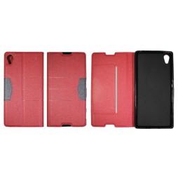 Sony Xperia Z5 - Preklopna torbica (47G) - rdeča