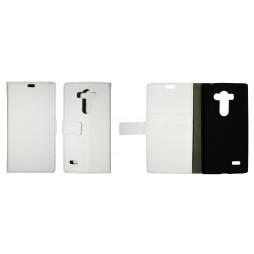 LG G4s Beat - Preklopna torbica (WL) - bela