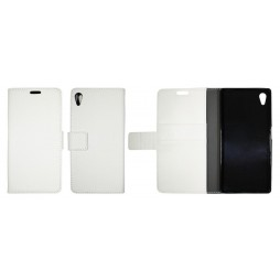 Sony Xperia Z5 - Preklopna torbica (WLG) - bela