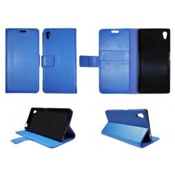 Sony Xperia Z5 - Preklopna torbica (WLG) - modra