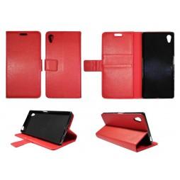Sony Xperia Z5 - Preklopna torbica (WLG) - rdeča