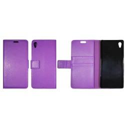 Sony Xperia Z5 - Preklopna torbica (WLG) - vijolična