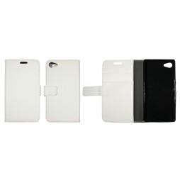 Sony Xperia Z5 Compact - Preklopna torbica (WLG) - bela