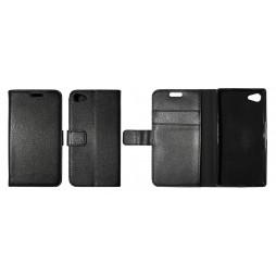 Sony Xperia Z5 Compact - Preklopna torbica (WLG) - črna