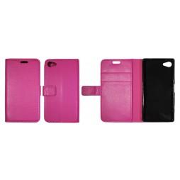 Sony Xperia Z5 Compact - Preklopna torbica (WLG) - roza
