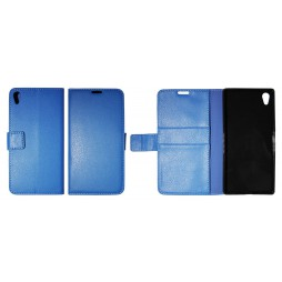 Sony Xperia Z5 Premium - Preklopna torbica (WLG) - modra