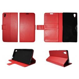 Sony Xperia Z5 Premium - Preklopna torbica (WLG) - rdeča