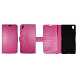 Sony Xperia Z5 Premium - Preklopna torbica (WLG) - roza