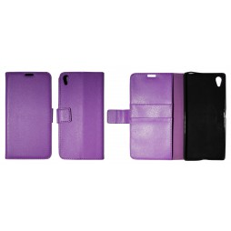 Sony Xperia Z5 Premium - Preklopna torbica (WLG) - vijolična
