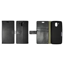 HTC Desire 526 - Preklopna torbica (WLG) - črna