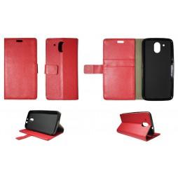 HTC Desire 526 - Preklopna torbica (WLG) - rdeča