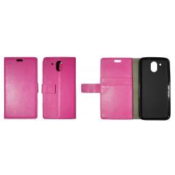 HTC Desire 526 - Preklopna torbica (WLG) - roza