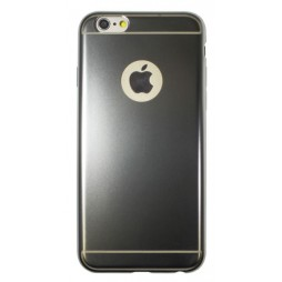 Apple iPhone 6/6S - Gumiran ovitek (TPUE) - cel srebrn