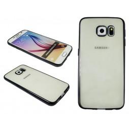 Samsung Galaxy S6 - Gumiran ovitek (TPUE) - rob črn