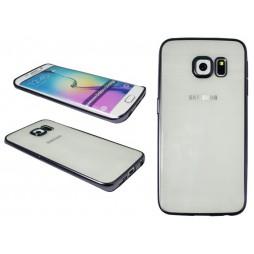 Samsung Galaxy S6 Edge - Gumiran ovitek (TPUE) - rob črn
