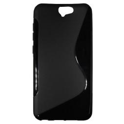 HTC One A9 - Gumiran ovitek (TPU) - črn SLine
