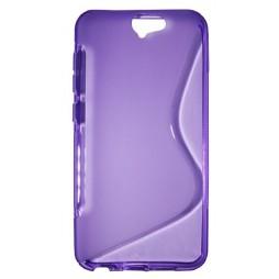 HTC One A9 - Gumiran ovitek (TPU) - vijolično-prosojen SLine