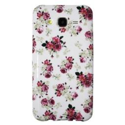 Samsung Galaxy J5 - Gumiran ovitek (TPUP) - Flowers