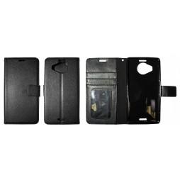 Microsoft Lumia 950 XL - Preklopna torbica (WLG) - črna