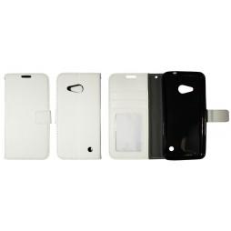 Microsoft Lumia 550 - Preklopna torbica (WLG) - bela