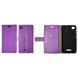 HTC Desire 320 - Preklopna torbica (WL) - vijolična