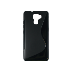 Huawei Honor 7 - Gumiran ovitek (TPU) - črn SLine