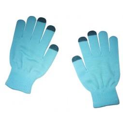 Rokavice za kapacitivni zaslon,moške - modre