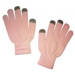 Rokavice za kapacitivni zaslon,ženske - roza