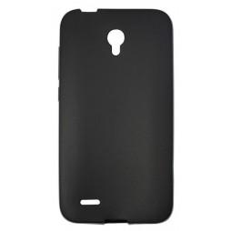 Alcatel Go Play - Gumiran ovitek (TPU) - črn mat