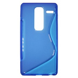 LG Zero - Gumiran ovitek (TPU) - modro-prosojen SLine