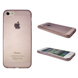 Apple iPhone 5/5S/SE - Gumiran ovitek (TPUD) - rob roza