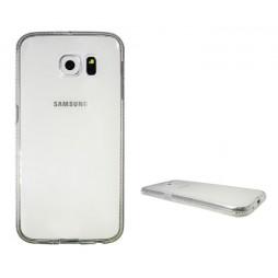 Samsung Galaxy S6 - Gumiran ovitek (TPUD) - rob bel