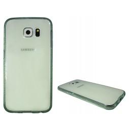 Samsung Galaxy S6 - Gumiran ovitek (TPUD) - rob zelen
