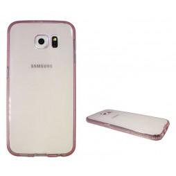 Samsung Galaxy S6 - Gumiran ovitek (TPUD) - rob roza