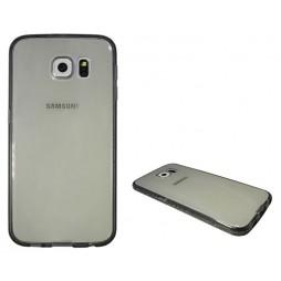 Samsung Galaxy S6 - Gumiran ovitek (TPUD) - rob siv