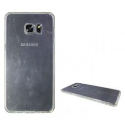 Samsung Galaxy S6 Edge Plus - Gumiran ovitek (TPUD) - rob bel