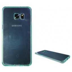 Samsung Galaxy S6 Edge Plus - Gumiran ovitek (TPUD) - rob zelen