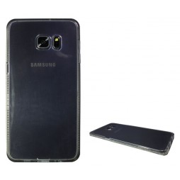 Samsung Galaxy S6 Edge Plus - Gumiran ovitek (TPUD) - rob siv